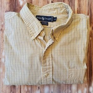 Mens Ralph Lauren long sleeve button down